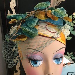 """Vintage """"Poison Ivy"""" Hat"""